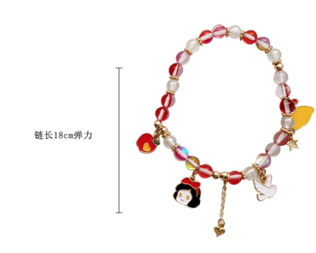 Bao Yuan Red Ariel Mermaid Bracelet