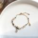 Bao Yuan Cat Moon and Stars Bracelet