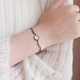 Dao Can White Stone Deer Antler Bracelet