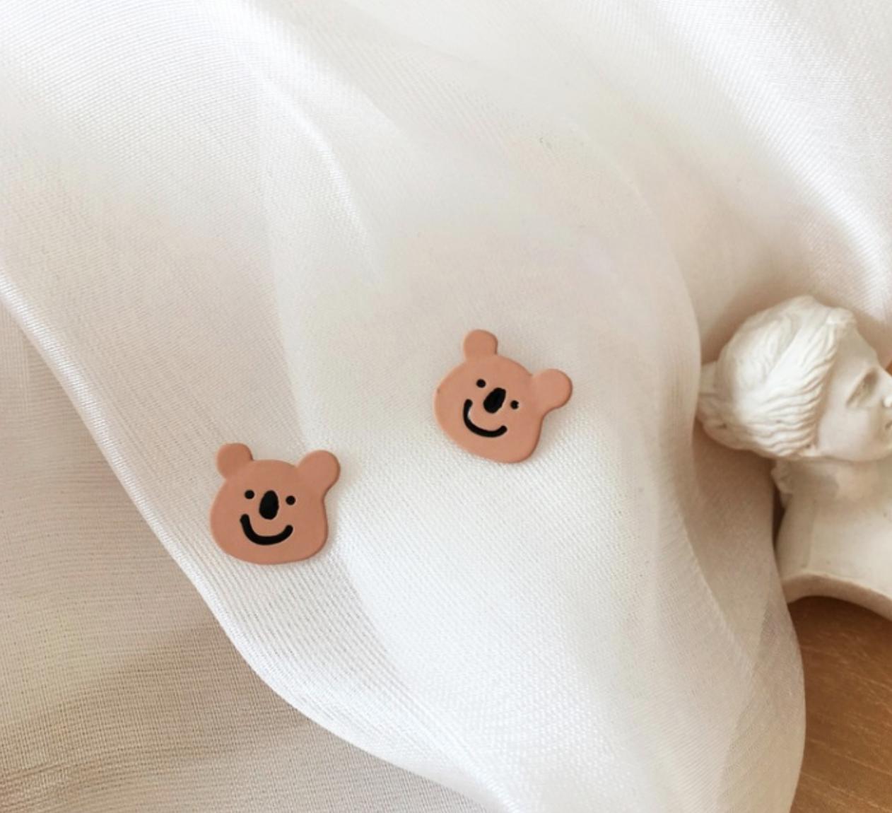 Bao Yuan Koala Smile Earring