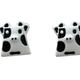 Bao Yuan Spotted Cow Earring