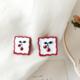 Bao Yuan Cherry Square Earring