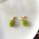 Bao Yuan Green Grape Earring