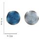 Bao Yuan Blue Circle Earring