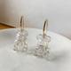 Bao Yuan Glass Bear Earring
