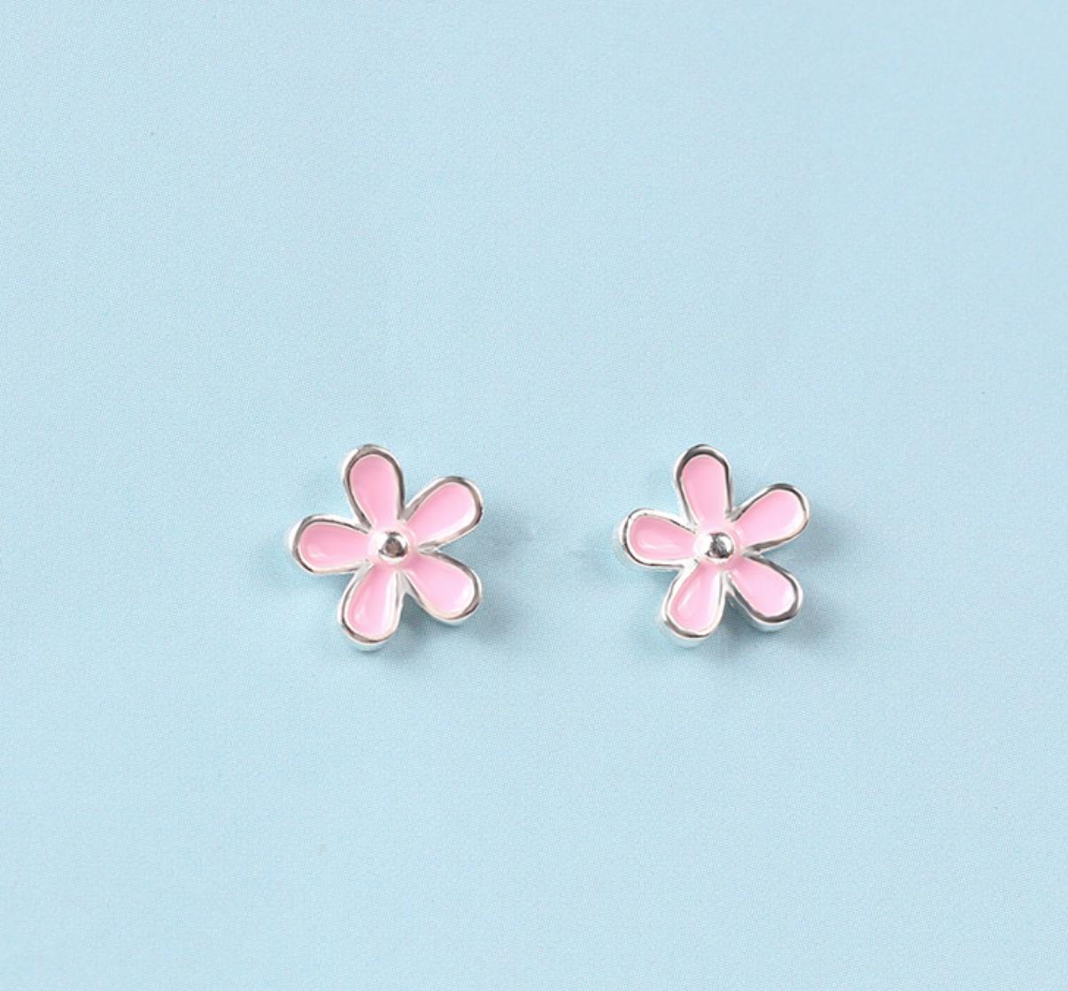 Dao Can Pink Sakura Earring