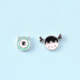 Dao Can Monster Inc Earring