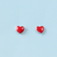 Dao Can Red Heart Earring