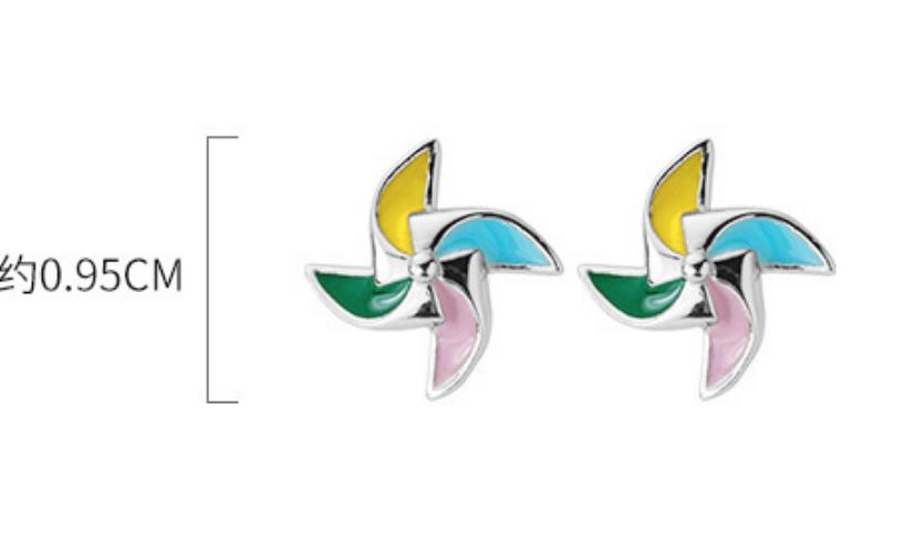 Dao Can Pinwheel Earring