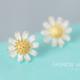 Dao Can Yellow Sun Flower Earring
