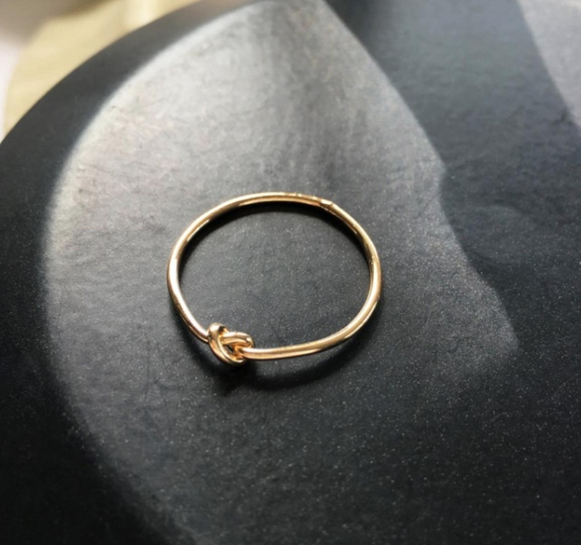 Bao Yuan Knot Ring