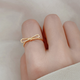 Dao Can Gold Bow Ring