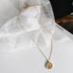 Bao Yuan Small Circle Gold Necklace