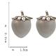 Bao Yuan Clear Strawberry Earring