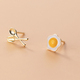 Dao Can Egg and Fork Earring