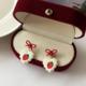 Bao Yuan Red Strawberry Earring