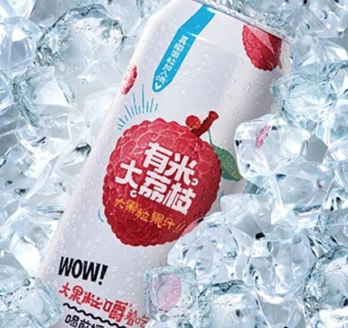 YM YM Lychee Juice with Pulp 500ml
