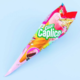 Glico Glico Giant Caplico Biscuit with Strawberry & Chocolate