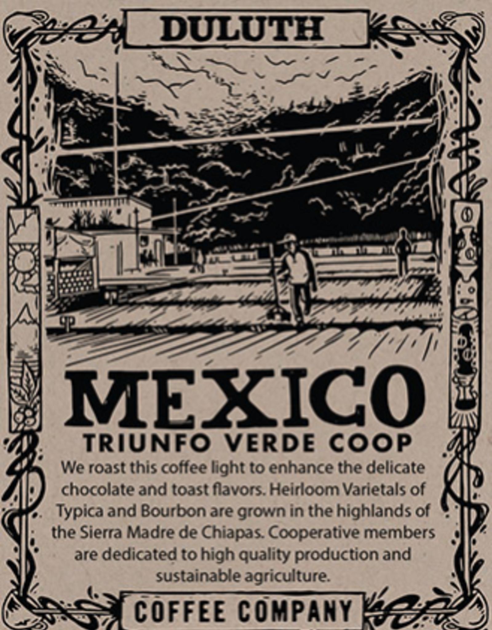 Duluth Coffee Company Mexico Chiapas El Triunfo, 1 lb Whole Bean