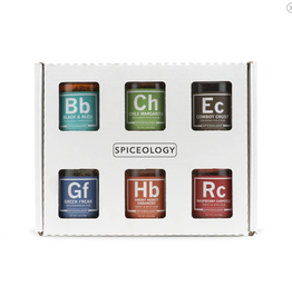 Spiceology Spiceologist, 6-Pack Mini Sampler