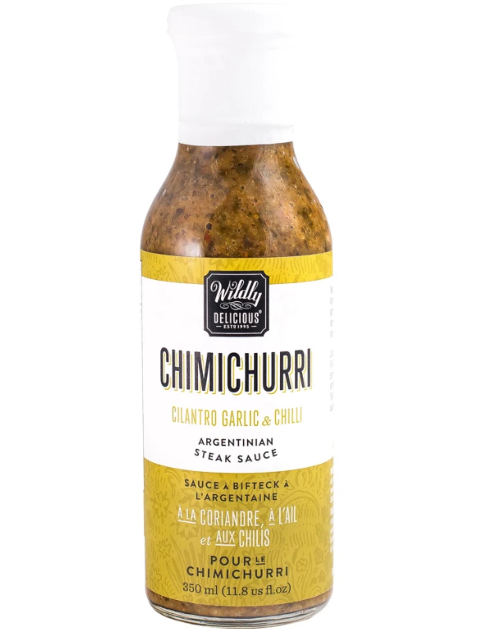 Wildly Delicious Chimichurri Sauce, Cilantro and Chili
