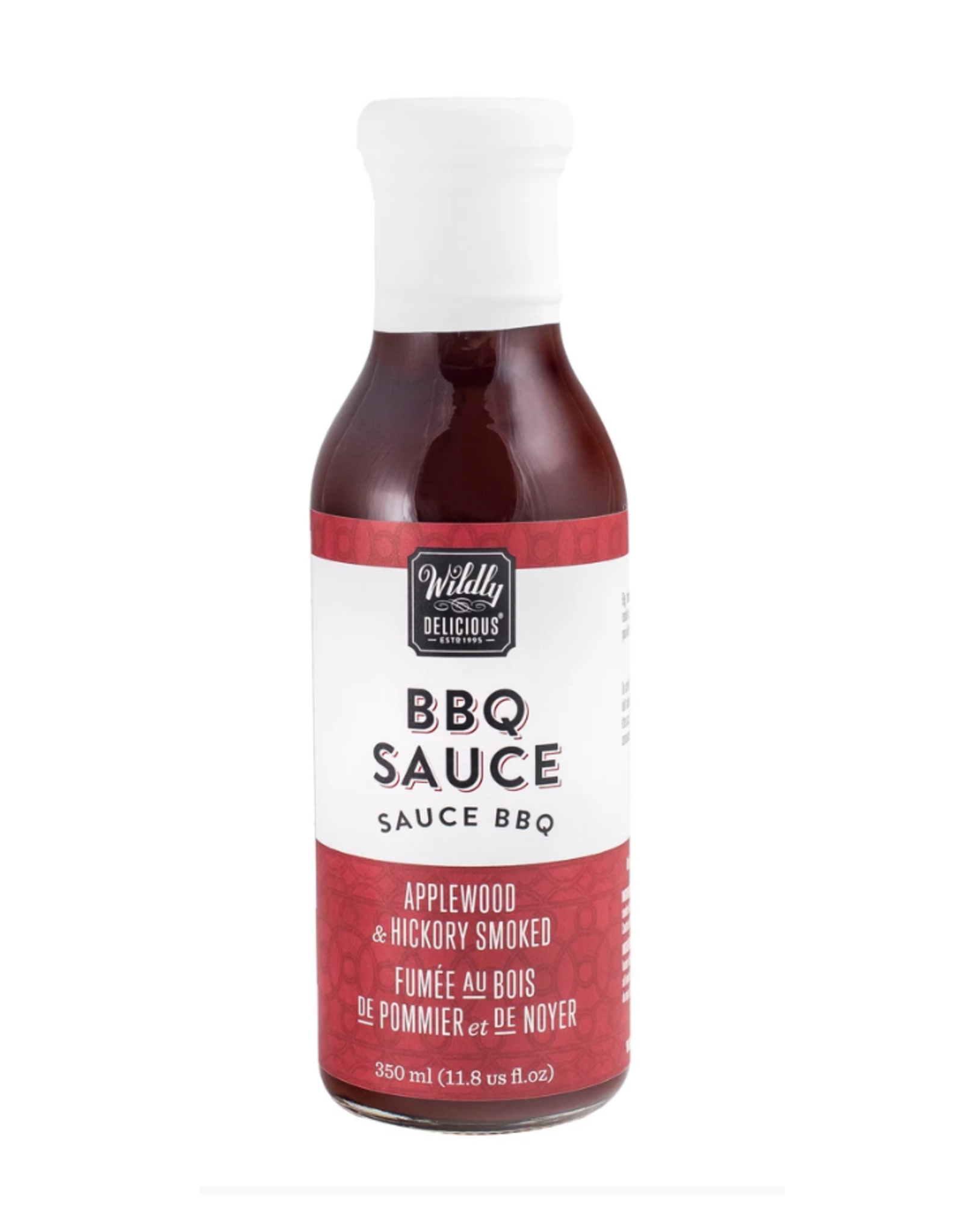 Wildly Delicious BBQ Sauce, Applewood Smoked