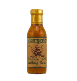 Hot Shots Distributing Tobago Keys Peruvian Gold Grilling Sauce