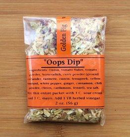 Golden Fig Oops Dip Packet