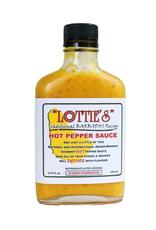 Hot Shots Distributing Lottie's Hot Habanero Mustard Hot Sauce, 6.75 oz.