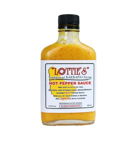Hot Shots Distributing Lottie's Hot Habanero Mustard Hot Sauce, 6.75 oz.