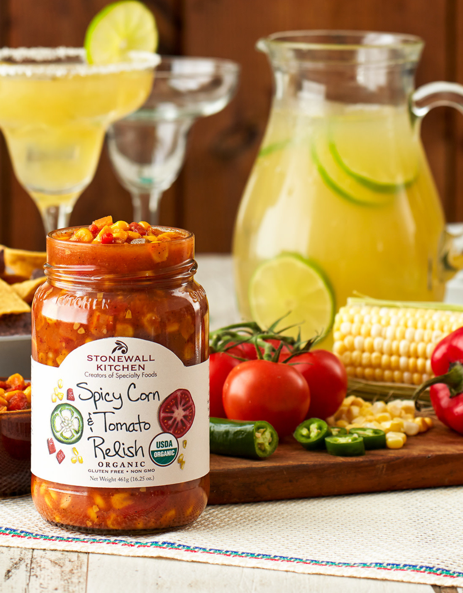 Stonewall Kitchen Spicy Corn and Tomato Relish