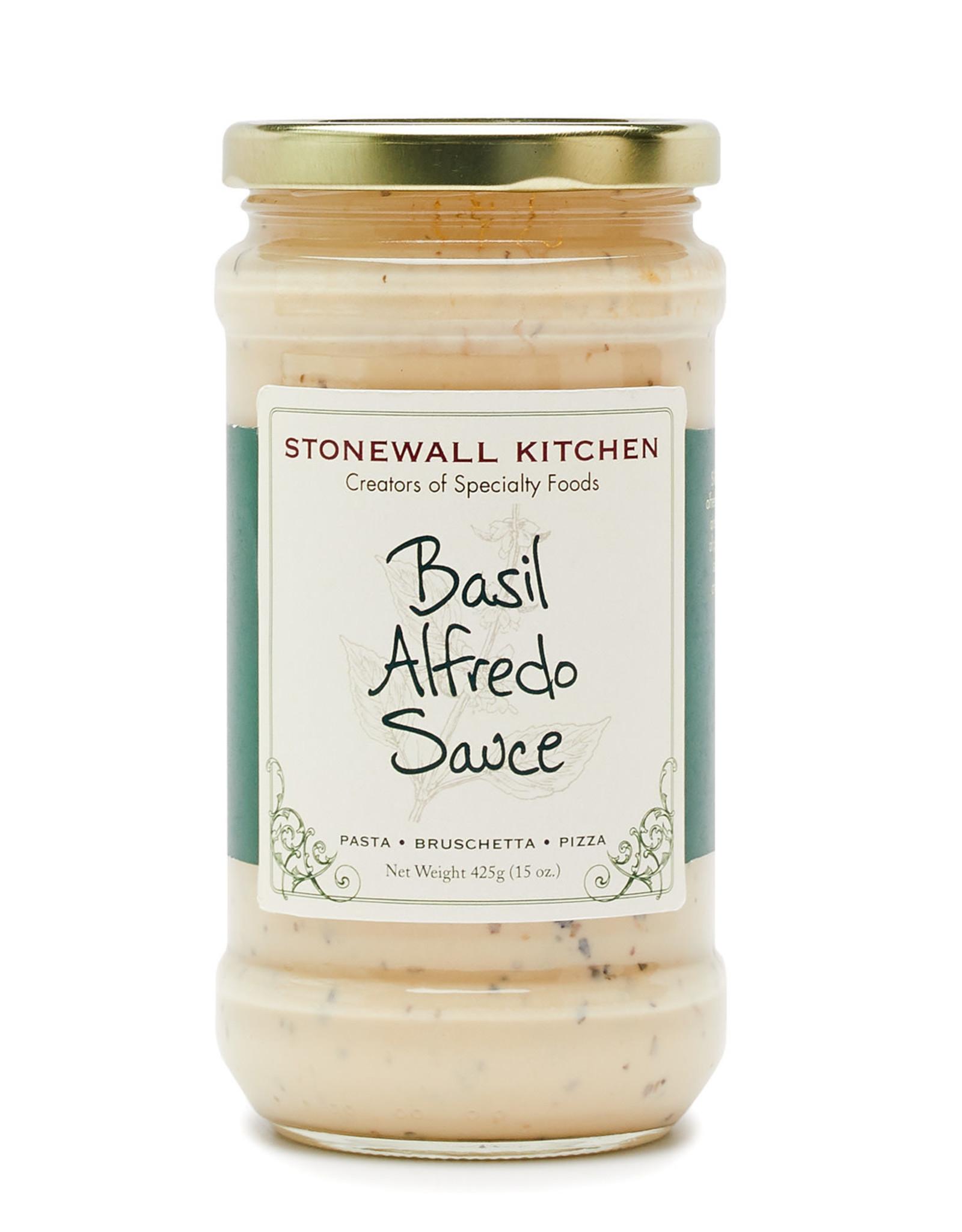 Stonewall Kitchen Basil Alfredo Sauce