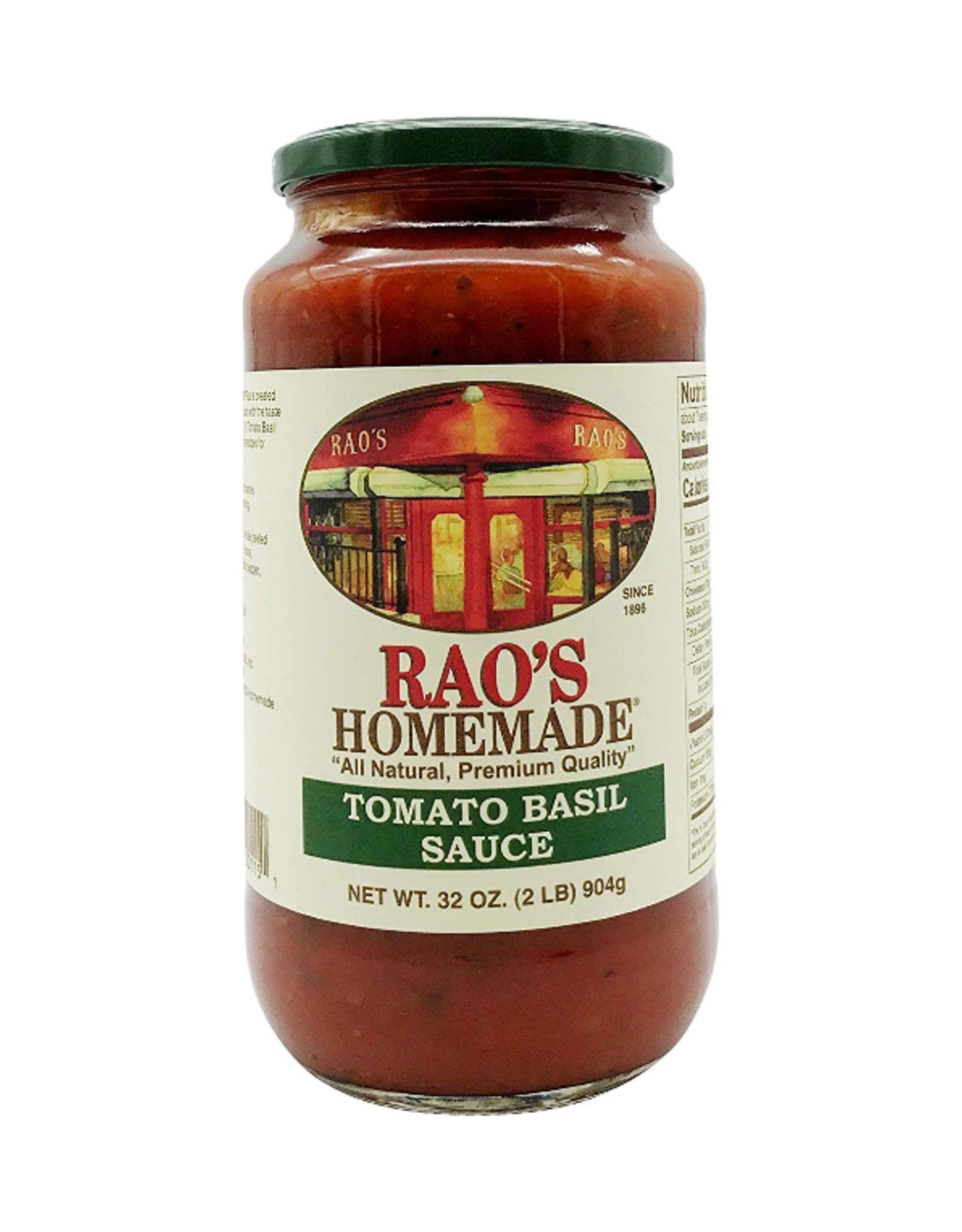 UNFI Rao's Pasta Sauce, Tomato Basil