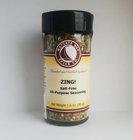 Wayzata Bay Spice Co. Zing (salt free) Seasoning