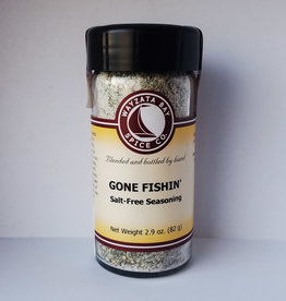 Wayzata Bay Spice Co. Gone Fishin (salt free) Seasoning