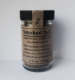 Golden Fig Smoked Salt, 2.5oz