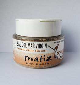 Great Ciao Smoked Grey Sea Salt, Matiz Mediterranea, Spain, 125g