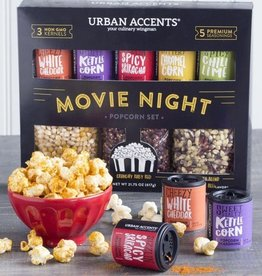 Urban Accents Movie Night Popcorn Kit