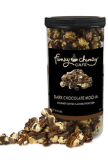Funky Chunky Cafe Dark Chocolate Mocha Popcorn, Tall Canister