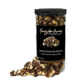 Funky Chunky Cafe Dark Chocolate Mocha Popcorn, Tall Canister