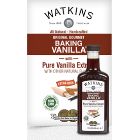 Watkins Original Double Strength Baking Vanilla, 11oz