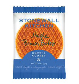 Stonewall Kitchen Maple Brown Butter Waffle Cookies, single