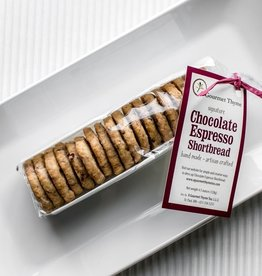 A Gourmet Thyme Too Chocolate Espresso Shortbread