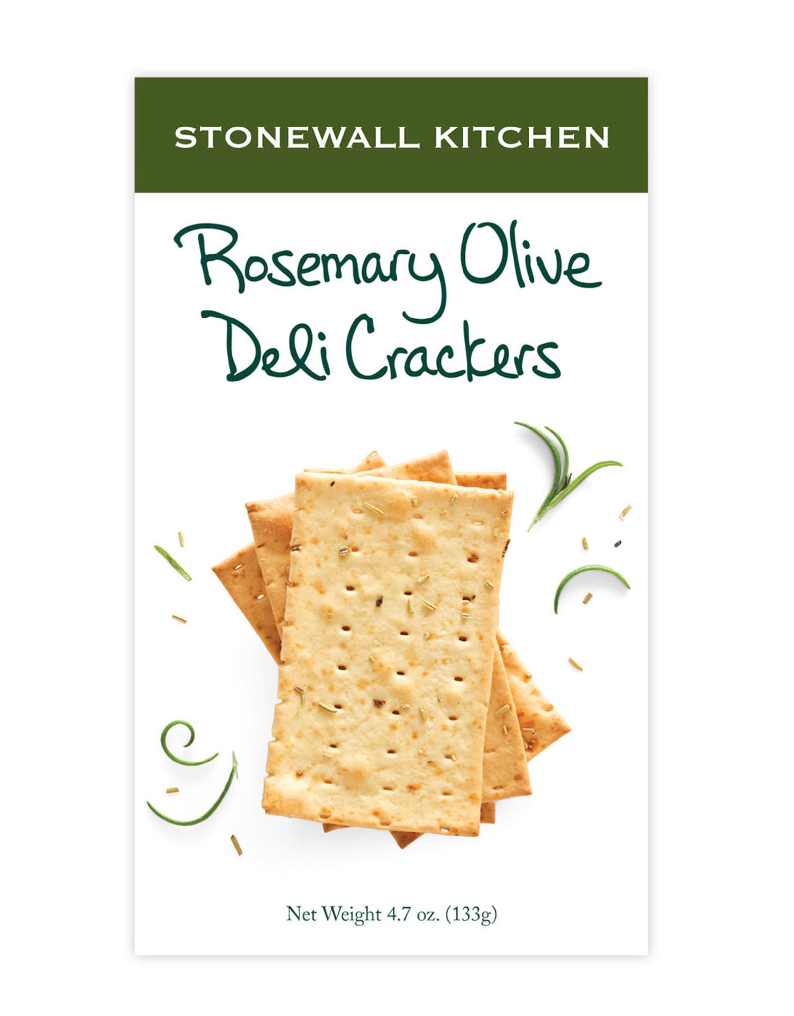 Stonewall Kitchen Rosemary Olive Deli Crackers