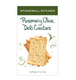 Stonewall Kitchen Rosemary Olive Deli Crackers