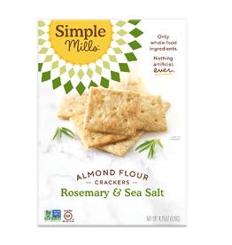 UNFI Simple Mills Crackers, Rosemary & Sea Salt