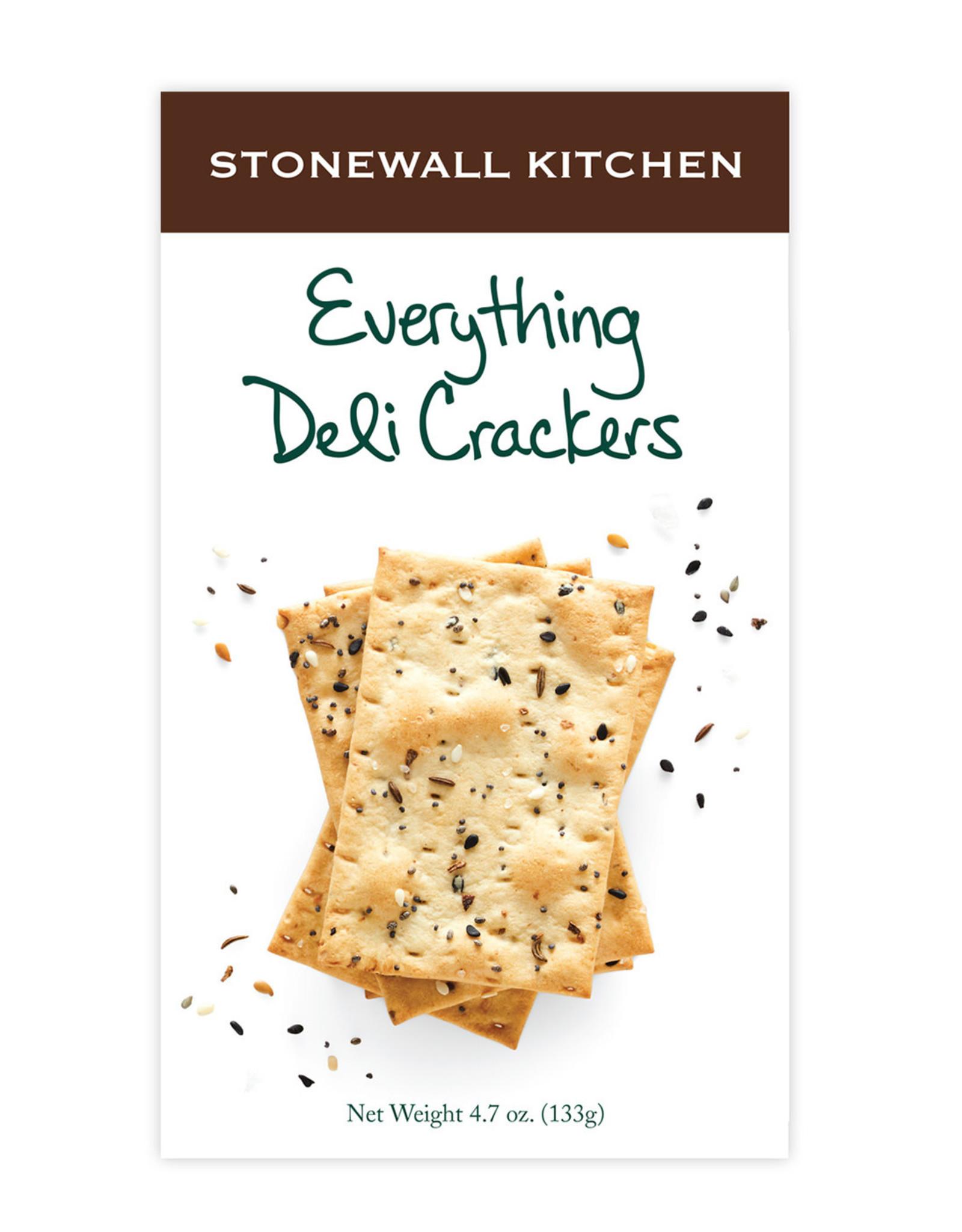 Stonewall Kitchen Everything Deli Crackers
