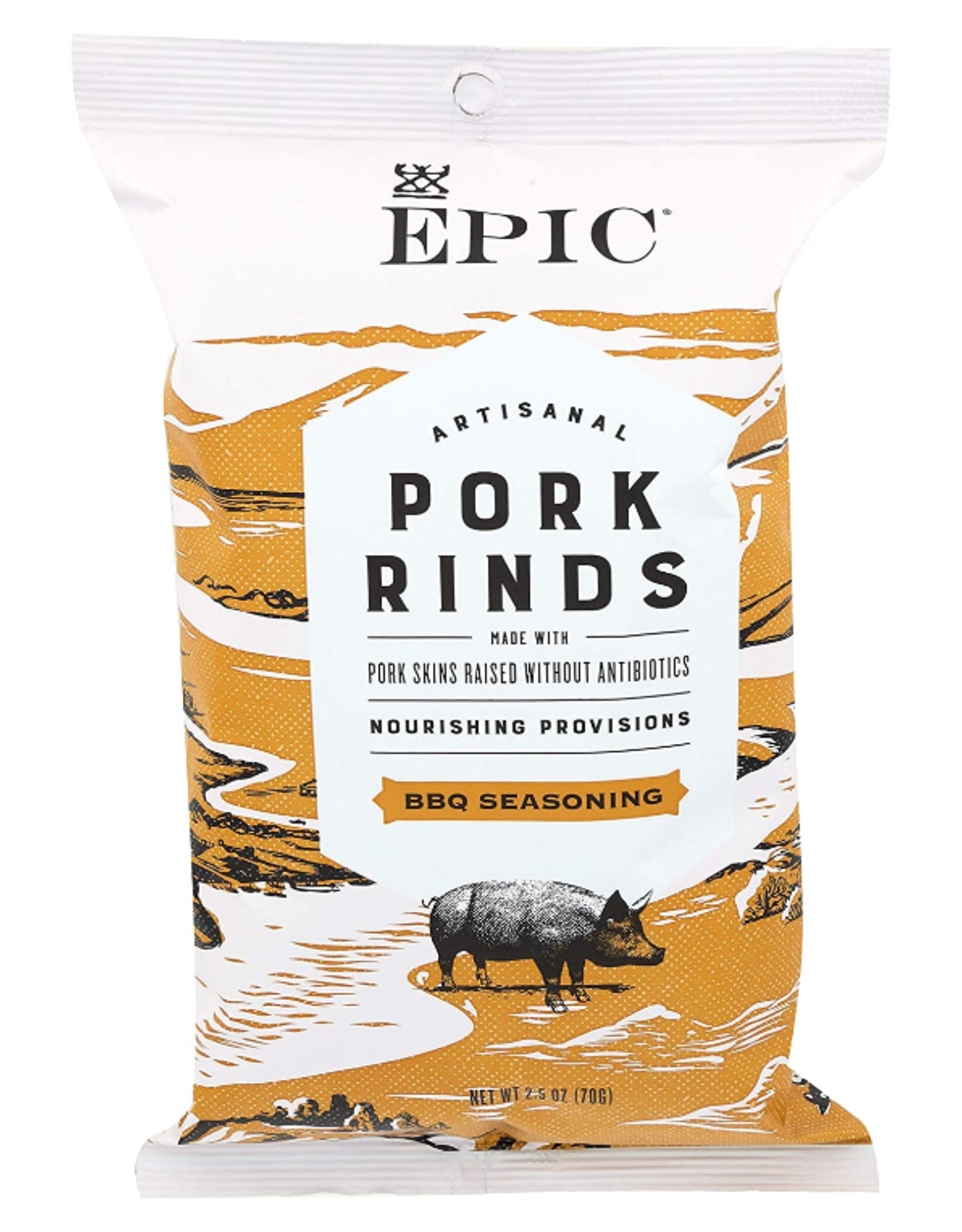 UNFI Epic Pork Rinds, BBQ