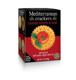 European Imports Mediterranean Crackers, Tomato & Basil