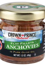 UNFI Crown Prince Flat Anchovies in Oil